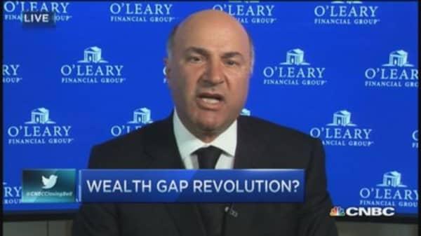 Wealth gap revolution?