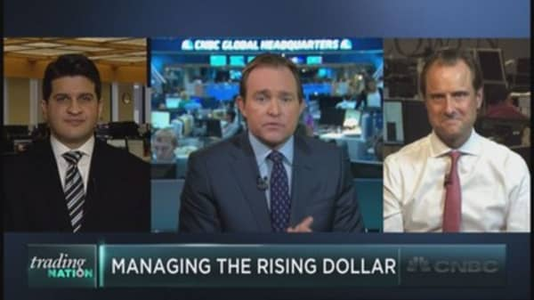 Is the dollar just a scapegoat?