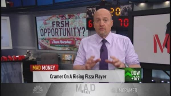Do not chase this pizza stock: Cramer