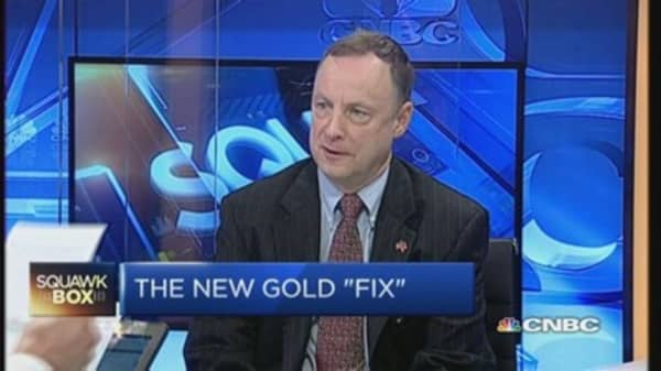 Why central banks are manipulating gold