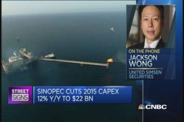 This analyst has a 'hold' rating on Sinopec