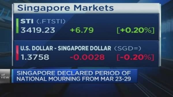 The next stage of growth for Singapore is...