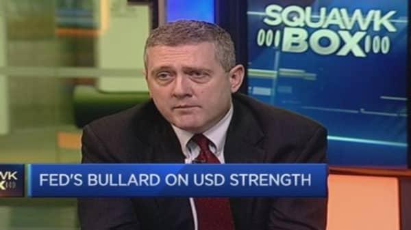 Fed's Bullard: US must beware 'asset price bubbles'