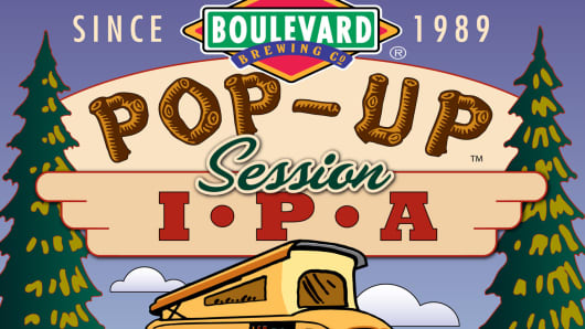 Boulevard Brewing Co. Pop-Up Session IPA.