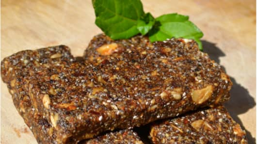 CROBOR, protein bar made with cricket flour