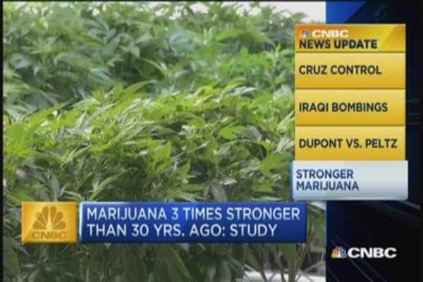 CNBC update: Stronger pot