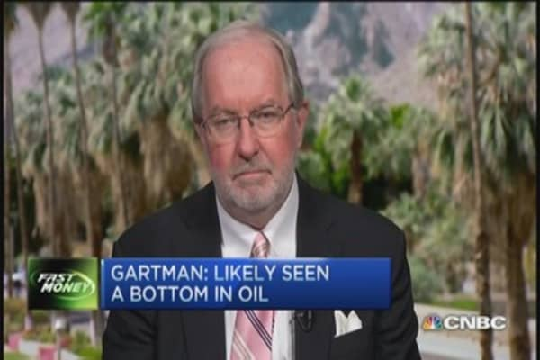 Gartman: Oil near bottom