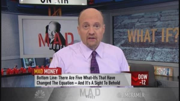 Cramer's 5 'what-ifs' that change equation for market