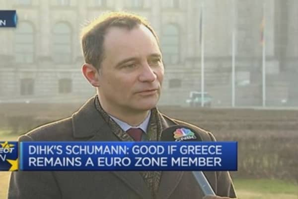 Still differences between Greece and Germany: Economist