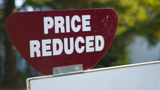 Price reduced home sales