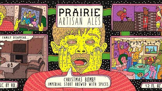 Prairie Artisan Ales Chrismas Bomb.