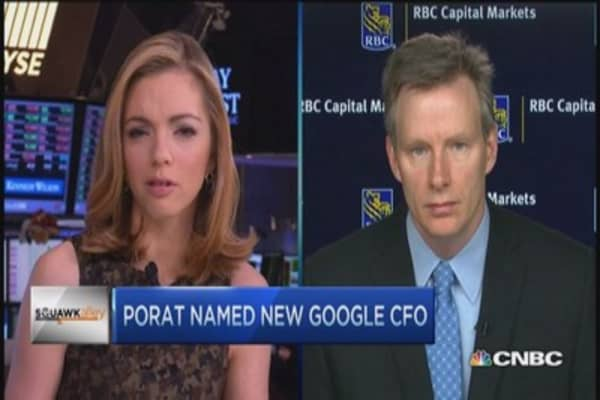 Porat very good hire for Google: Pro