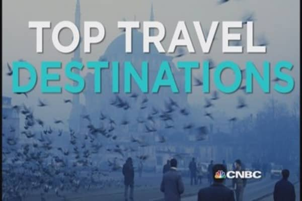 You've got to travel here in 2015