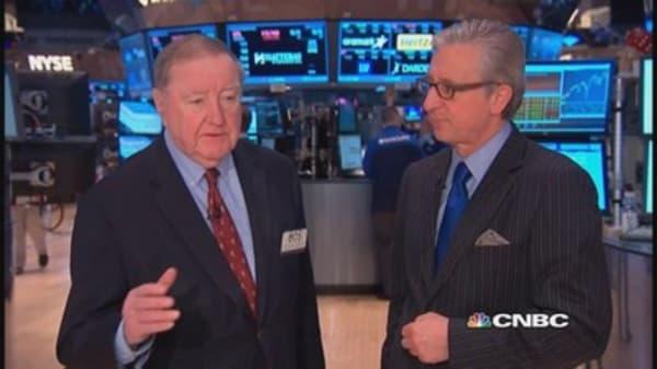 Cashin says: Traders sensitive to data