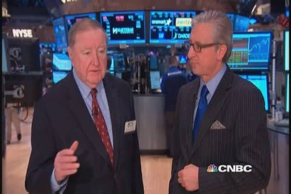 Cashin says: Traders sensitive to data