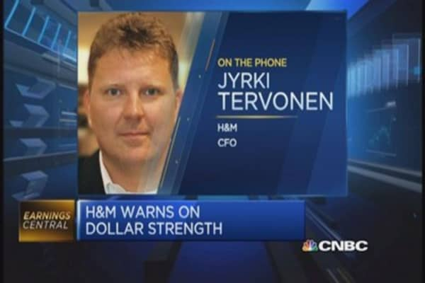 H&M CFO discusses strong US dollar