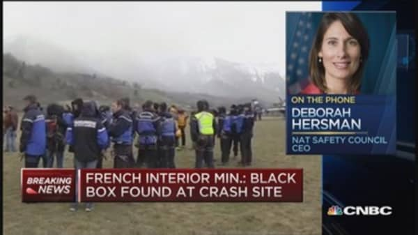 Germanwings black box found at crash site: French Interior Min.