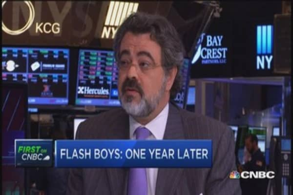 Investor impact: 'Flash Boys' one year later
