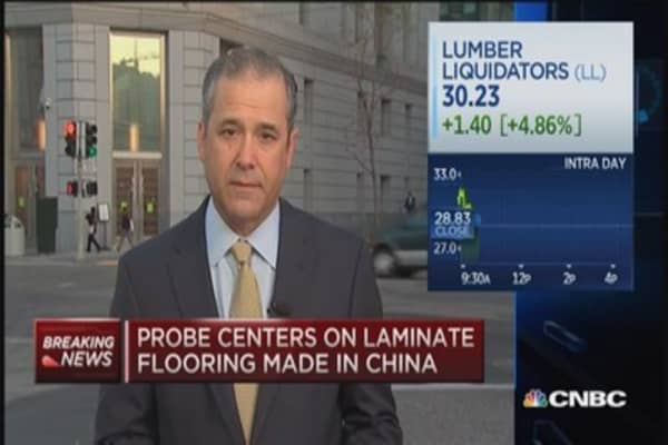 CPSC investigates Lumber Liquidators products