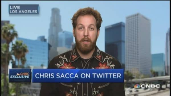 Twitter is indispensable: Chris Sacca