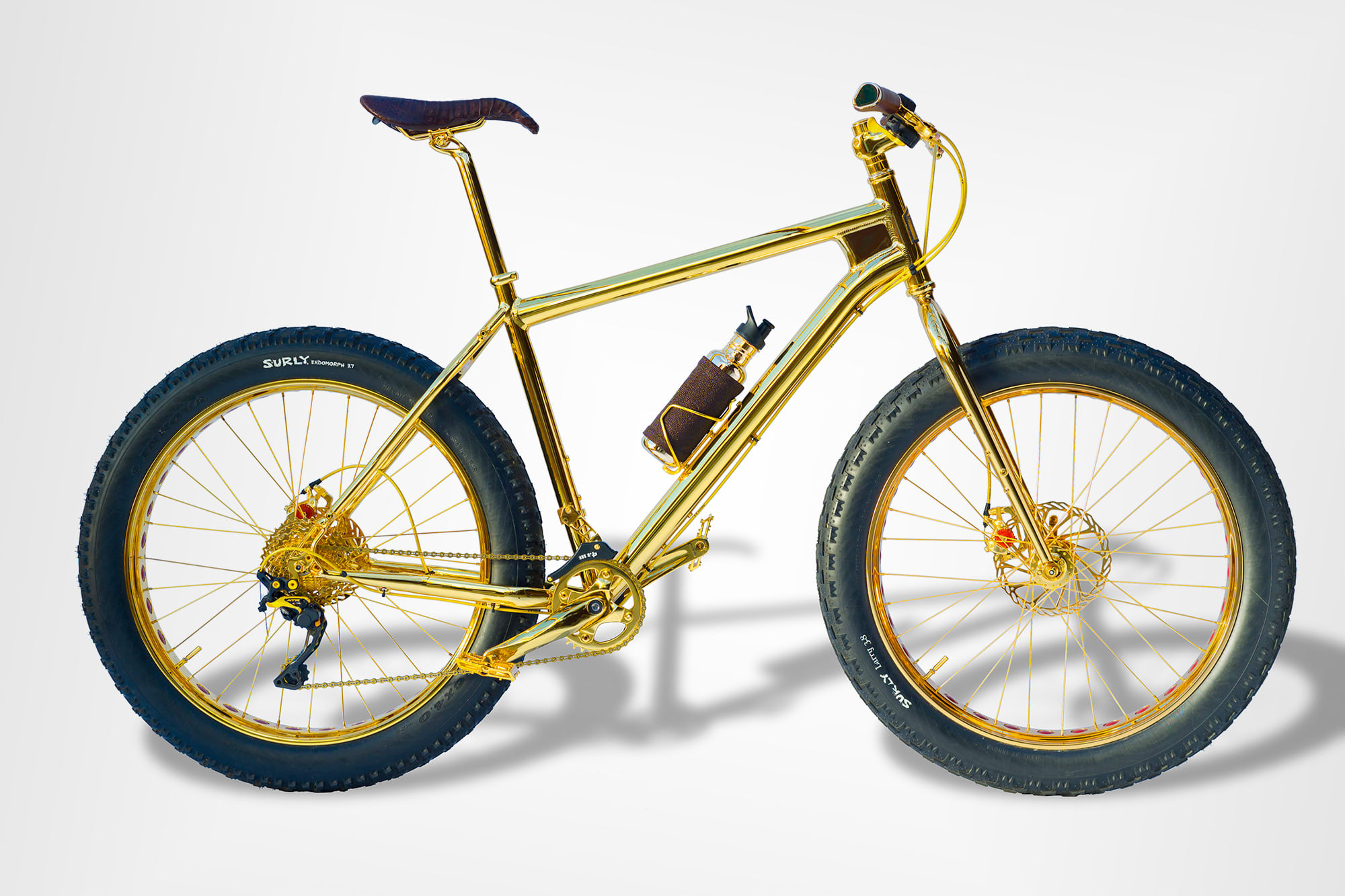 The 500 000 Gold Mountain Bike