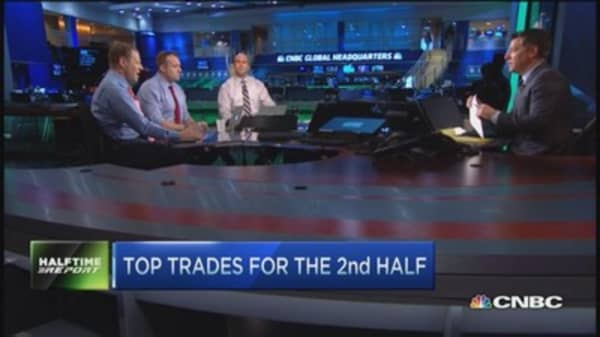 Top trades for the 2nd half: Apple, Valero & more
