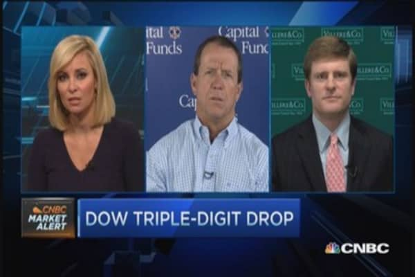 Stocks sell off; Two pros pick stocks
