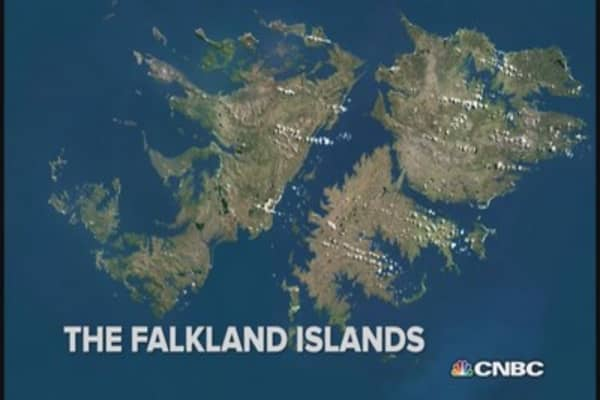 Falkland Islands' fears for Russia-backed invasion