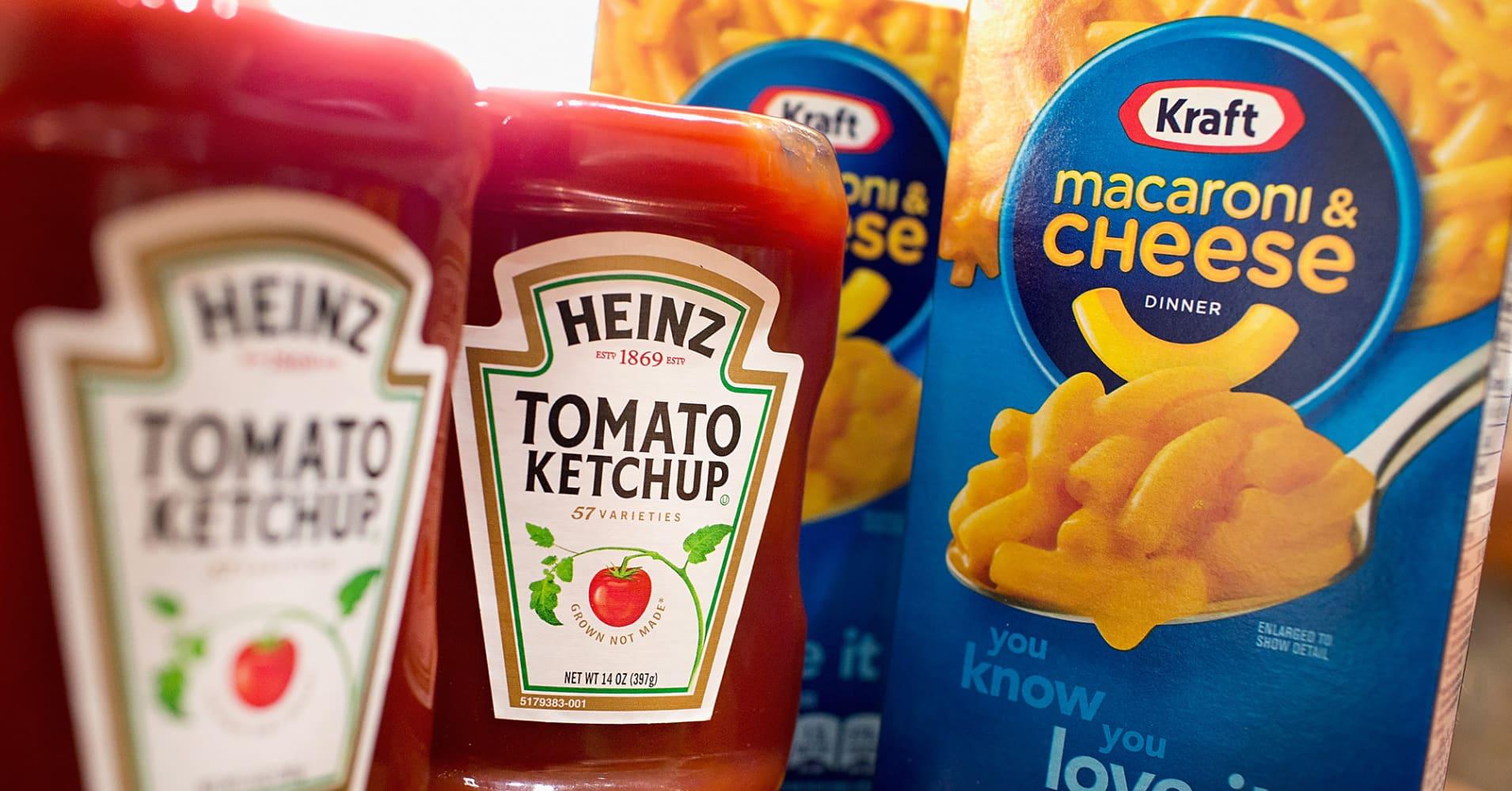 S&P places Kraft Heinz on CreditWatch negative