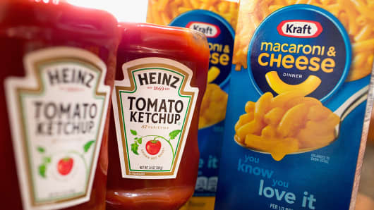 Kraft Heinz shares hit 52-week low after S&P puts company on CreditWatch negative, citing delayed annual report