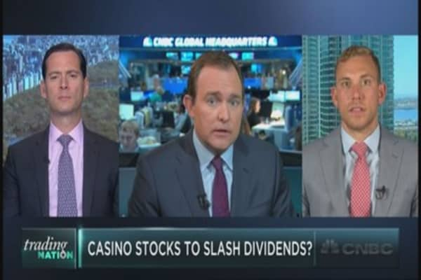 Casinos to slash dividends?