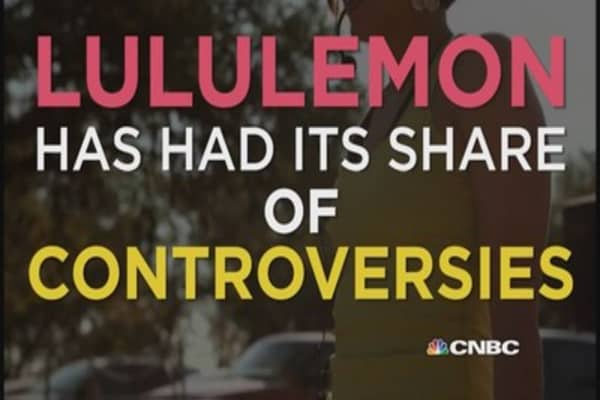 Lululemon's biggest missteps