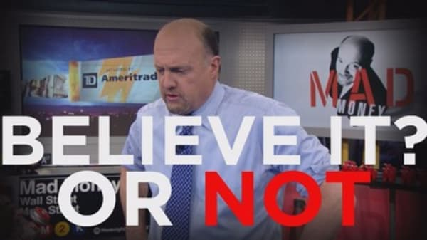 Cramer: The selloff is made for this stock