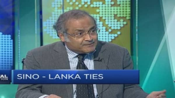 A look at Sri Lanka - China ties