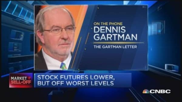 Gartman: Crude appears to have bottomed