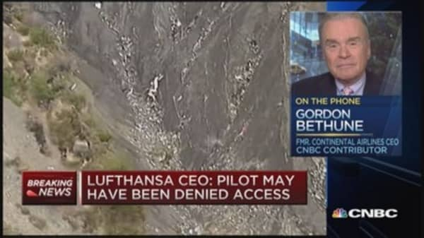 Fmr. Continental Airlines CEO speaks on Germanwings crash