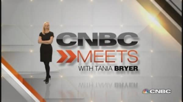 CNBC Meets: Maria Sharapova, part one