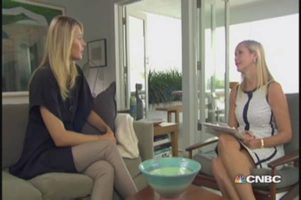 CNBC Meets: Maria Sharapova, part two