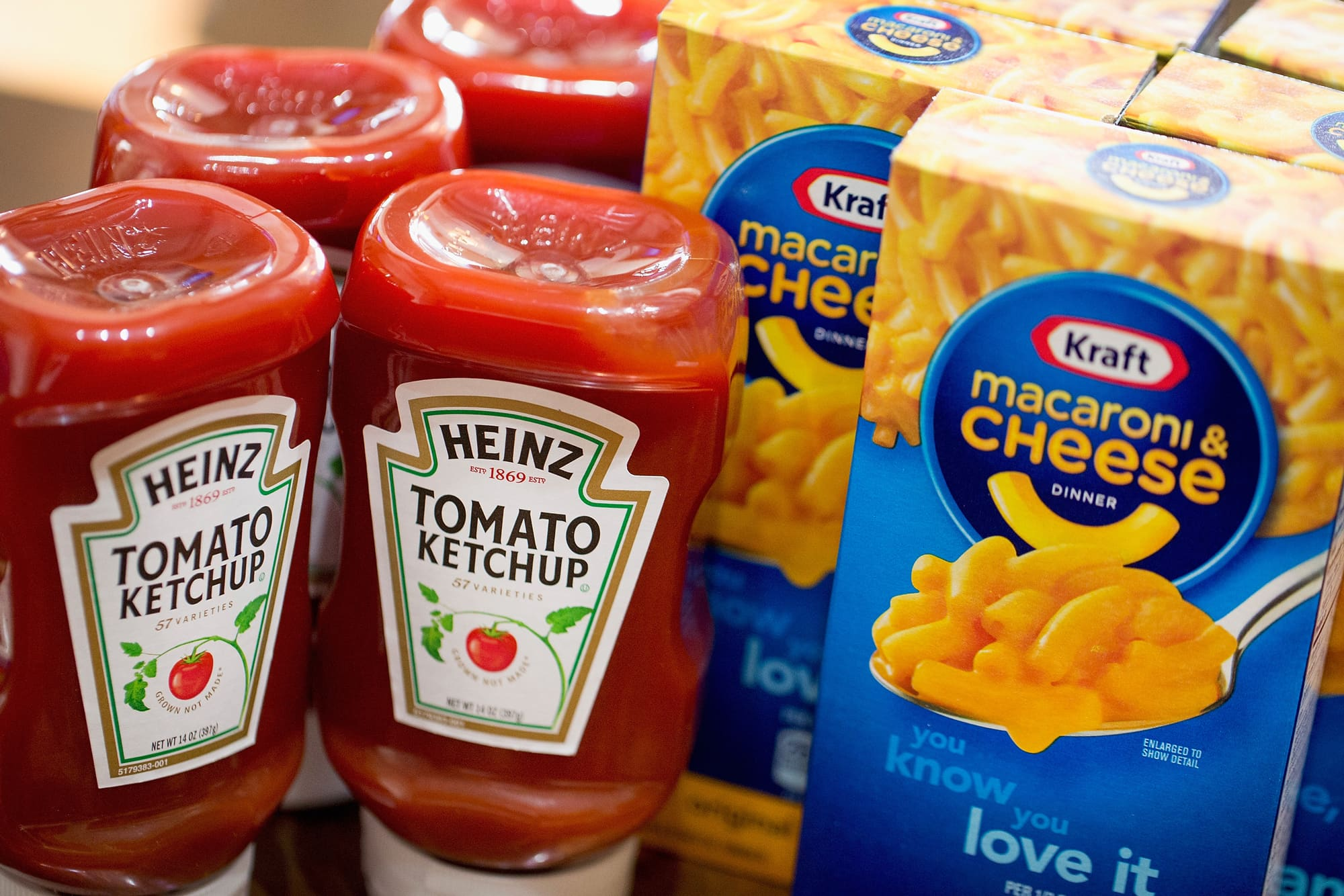 kraft general foods the merger