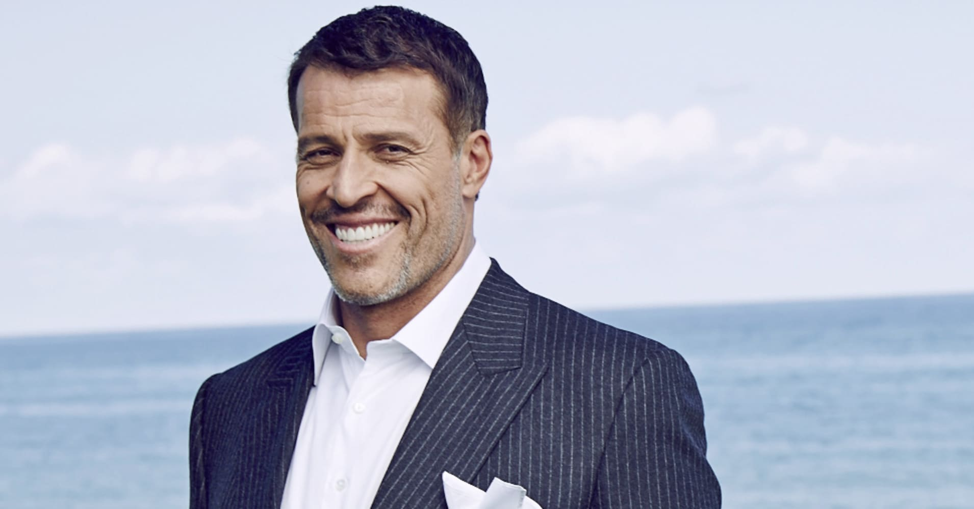Self-made multi-millionaire Tony Robbins