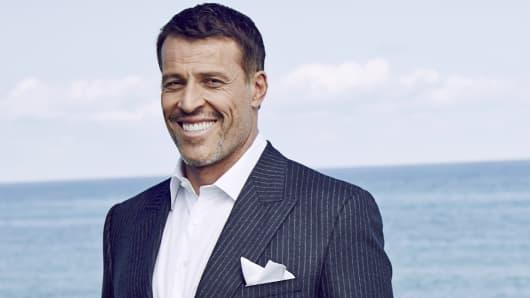 Self-made multi-millionaire Tony Robbins