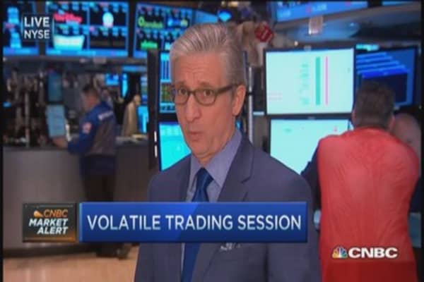 Pisani sorts through volatile trading
