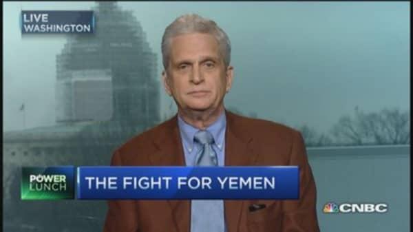 Iranian backed rebels capture key Yemeni areas