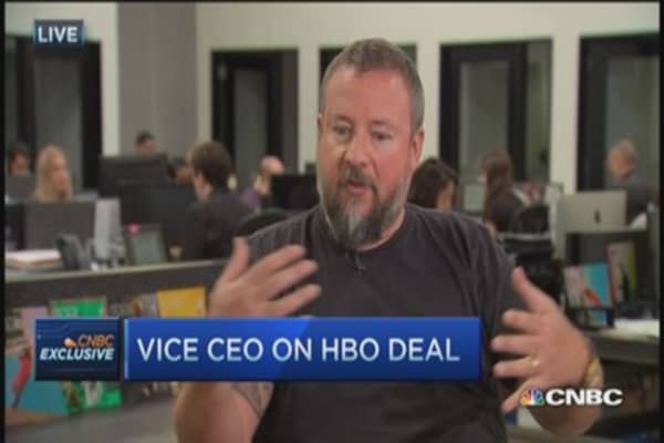 Vice CEO on HBO deal