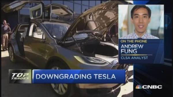 CLSA downgrades Tesla