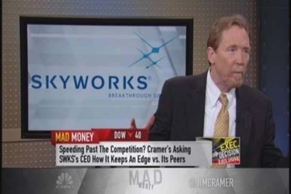 Skyworks a long-term winner? CEO makes the case