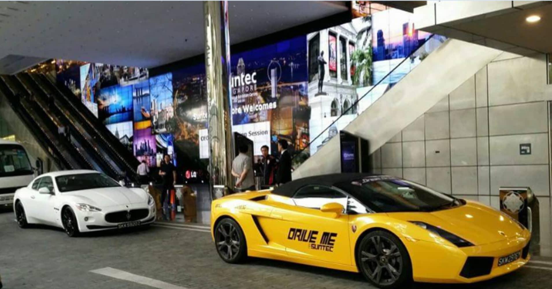 Uber Adds Lamborghinis Maseratis To Singapore Fleet
