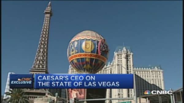 Las Vegas casino industry on the mend: Caesars CEO