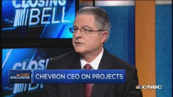 I expect this to be a choppy year: Chevron CEO