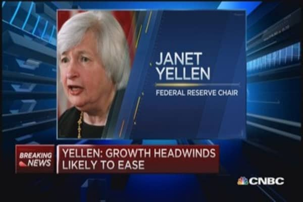 Yellen: 'Rate increase may be warranted later this year'